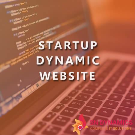 startup-dynamic-website